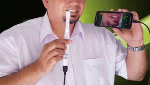 câmera intra oral
